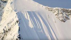 Un skieur canadien survit à une chute de 500 mètres