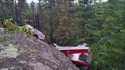Écrasement d'hydravion: la SQ confirme la mort des six occupants