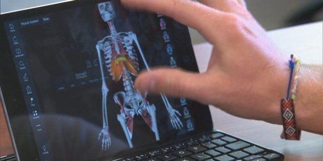 Des tablettes pour les futurs médecins de la Faculté de médecine de l'Université de