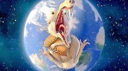 Scrat cherche son gland dans l'espace