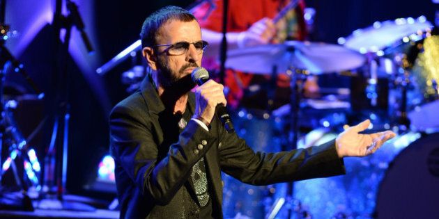 FORT LAUDERDALE, FL - OCTOBER 21: Ringo Starr and his All Star Band performs at Au Rene Theater at Broward...