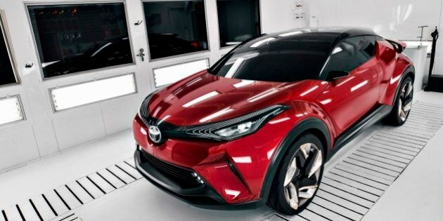 Le Toyota C-HR sera lancé au Salon de Los Angeles