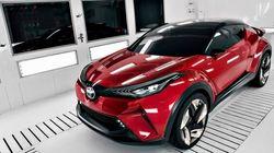 Le Toyota C-HR sera lancé au Salon de Los