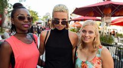Styles de soirée: le Festival Mode et Design en mode glamour