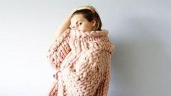 Le tricot TRÈS grandes mailles, la nouvelle passion du