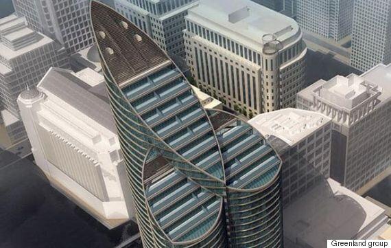 Ce nouveau gratte-ciel de Londres ressemble à un gigantesque