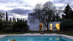 Une maison de rêve construite grâce à quatre containers