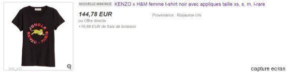 La collection Kenzo x H&M est déjà sur Ebay