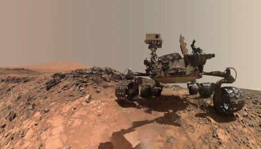 Une selfie martienne pour Curiosity