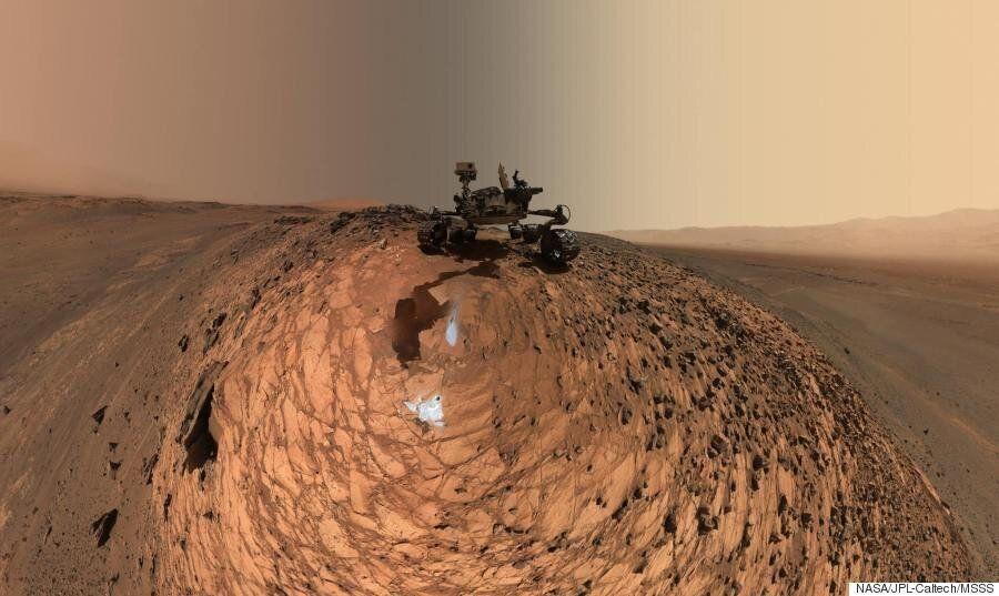 En mission d'exploration, le rover Curiosity prend une magnifique selfie sur Mars