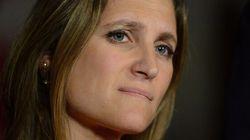 Le NPD fait preuve d'un cynisme «à la Harper» - Chrystia