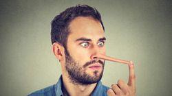 Mensonges: attention «pente