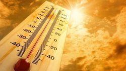 Les mois les plus chauds depuis