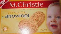 Rappel de biscuits de marque M.