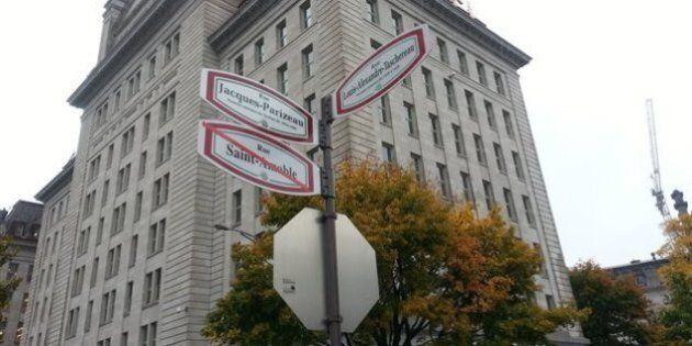 Colline Parlementaire à Québec : Inauguration de la rue