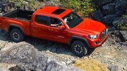 Premier contact Toyota Tacoma 2016 : mauvais garçon