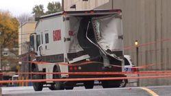 Braquage spectaculaire d'un camion de la Garda dans l'ouest de l'île de