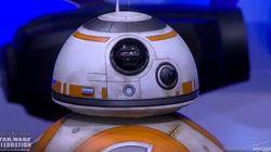 Disney présente BB8, le nouveau robot de la saga Star Wars