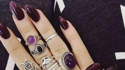 10 manucures violettes pour l'automne