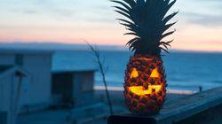 Les ananas décorés, la nouvelle tendance de