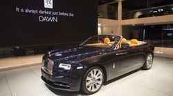 La Rolls-Royce Dawn fait son entrée à Montréal