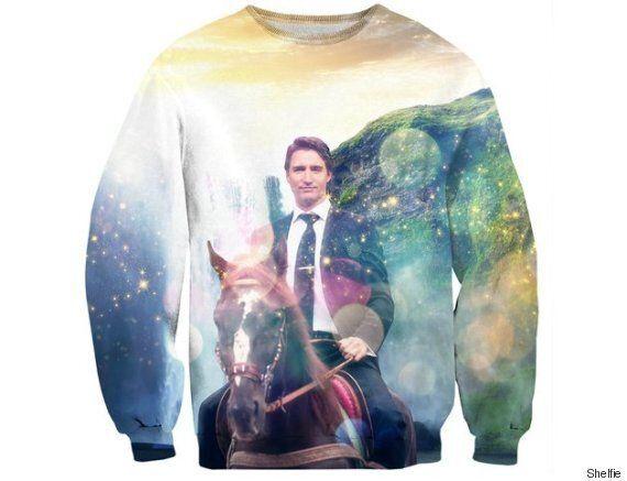 Le pull «Dreamy Trudeau» est la nouvelle trouvaille qui affole Internet
