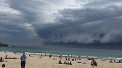 Sydney : Est-ce un orage ou une vague gigantesque?
