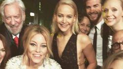 La distribution de «Hunger Games» prend la pose pour un dernier selfie