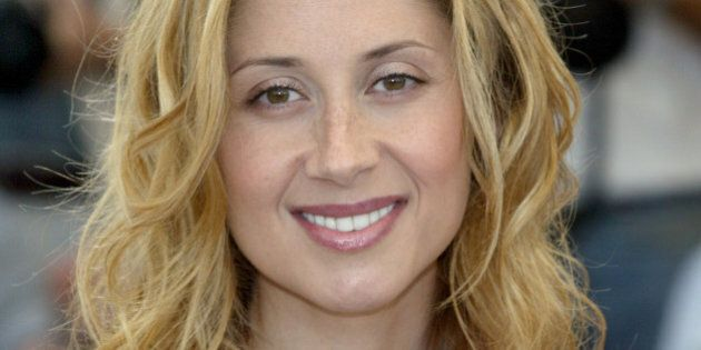 French singer Lara Fabian poses during a photocall