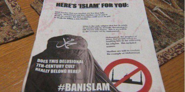Des tracts islamophobes distribués à Edmonton, la police