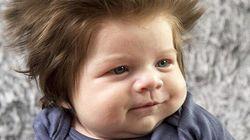 Ce bébé à la chevelure de lion vaut le