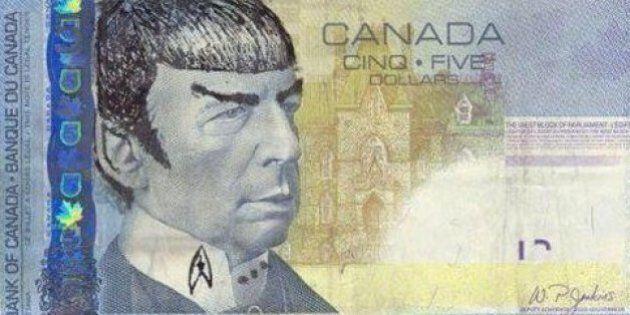 Stephen Poloz déconseille aux Canadiens de dessiner Spock sur leurs