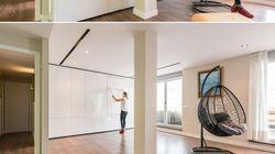 Réglez vos problèmes d'espace grâce aux murs mobiles
