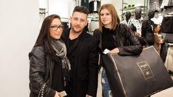 Styles de soirée: la fébrilité au rendez-vous pour Balmain x H&M