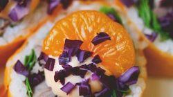 Le maki au canard à l'orange de Geneviève