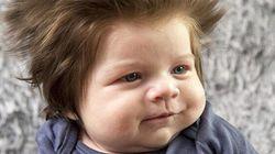 Ce bébé à la chevelure sublime est la cause d'une bataille