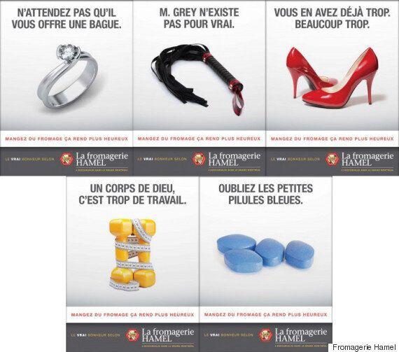 La nouvelle campagne de pub de la fromagerie Hamel : sexiste ou