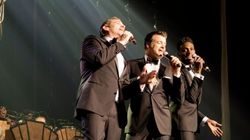 «Forever Gentlemen»: Garou, Corneille et Roch Voisine, nouveaux crooners