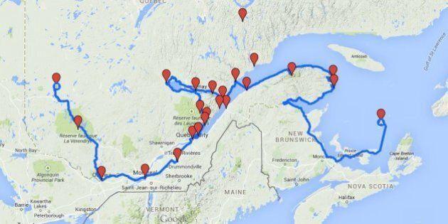 Le roadtrip ultime à travers le Québec : Des idées pour vos vacances