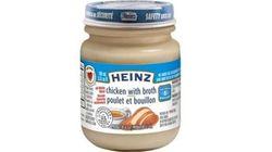 Rappel de pots pour bébé Heinz au
