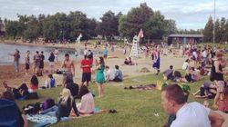La plage du parc Jean-Drapeau devient officiellement la plage