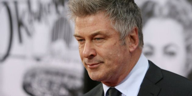 HOLLYWOOD, CA - APRIL 10: Actor Alec Baldwin attends TCM Classic Film Festival opening night gala of...