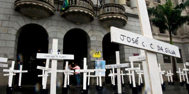 Massacre de détenus au Brésil en 1992: la condamnation de 74 policiers