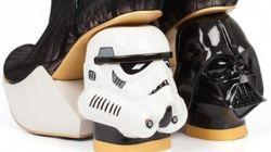 Des chaussures Star Wars à couper le souffle