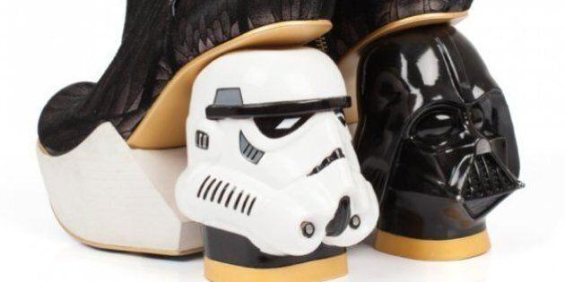 Ces chaussures Star Wars en collaboration avec Irregular Choice sont à couper le souffle