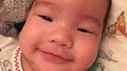 Impossible de résister au sourire du bébé de Lucy Liu