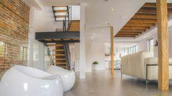 Visite d'une luxueuse résidence de 3 étages à Montréal