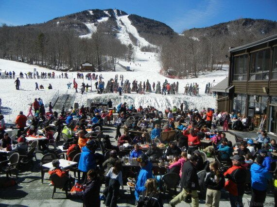 Beau week-end de ski de printemps en