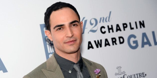 Designer Zac Posen arrives at the 42nd Annual Chaplin Award Gala Honoring Robert Redford at Alice Tully...