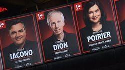 Les affiches des candidats libéraux québécois font jaser